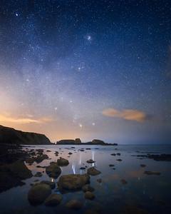 Starry South coast