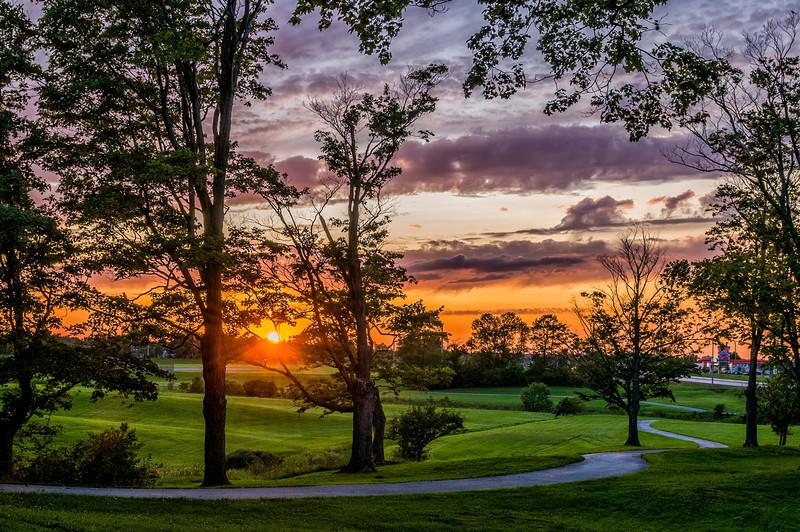 Valley Park Sunset