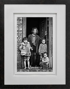 Grandmother and Kids