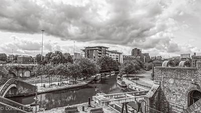 Castlefield Basin, Manchester, UK