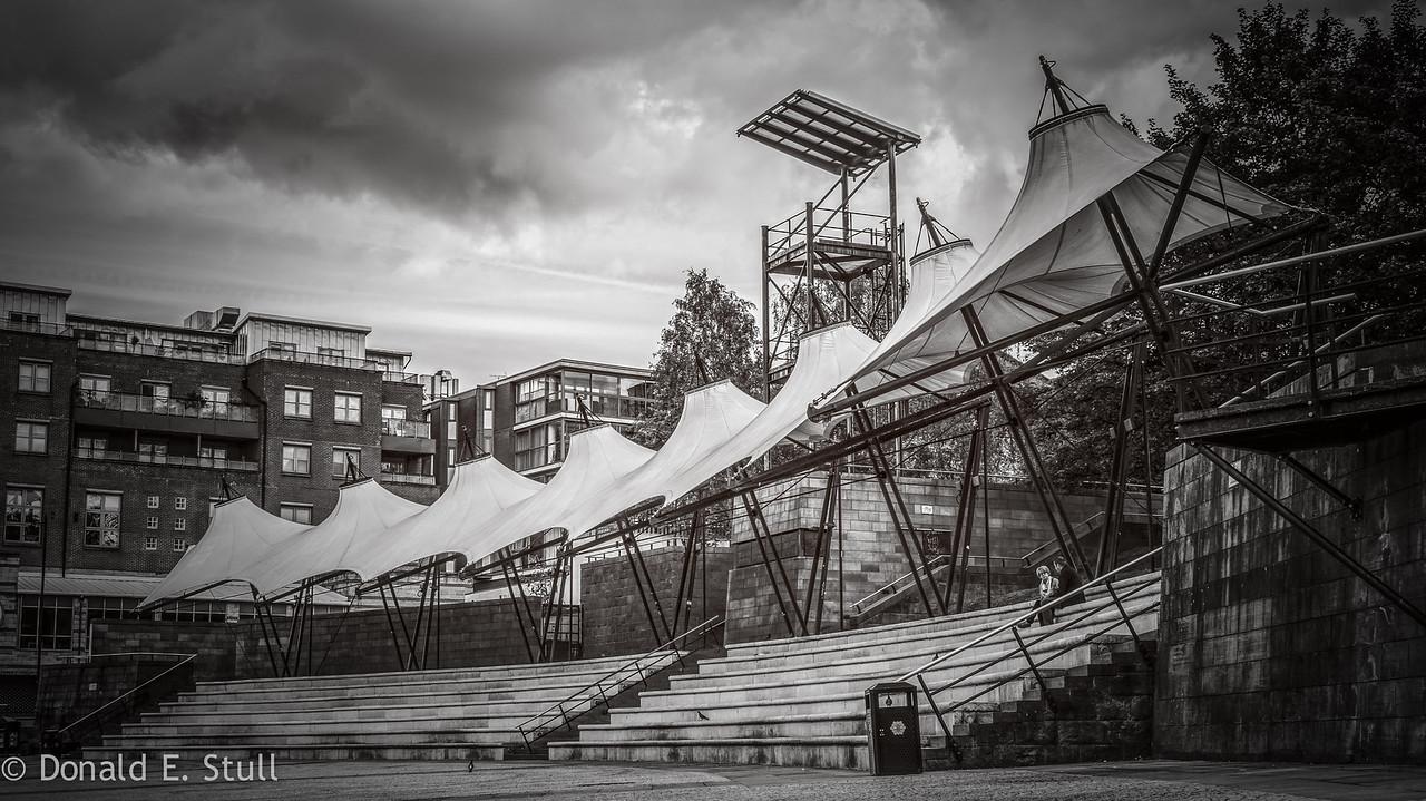 Castlefield Open Arena, Castlefield Basin, Manchester, UK