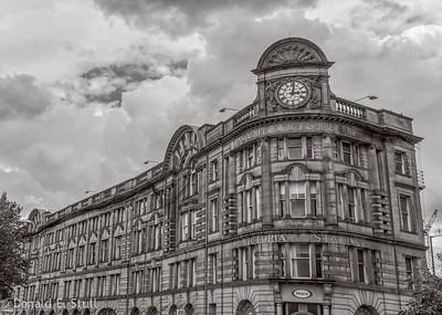 Victoria Train Station, Manchester, UK