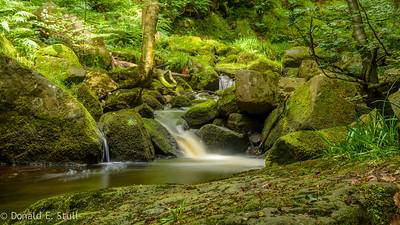 Burbage Brook, Grindleford, UK