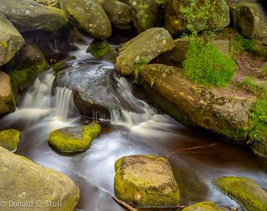 Burble Brook, Hathersage Moor.