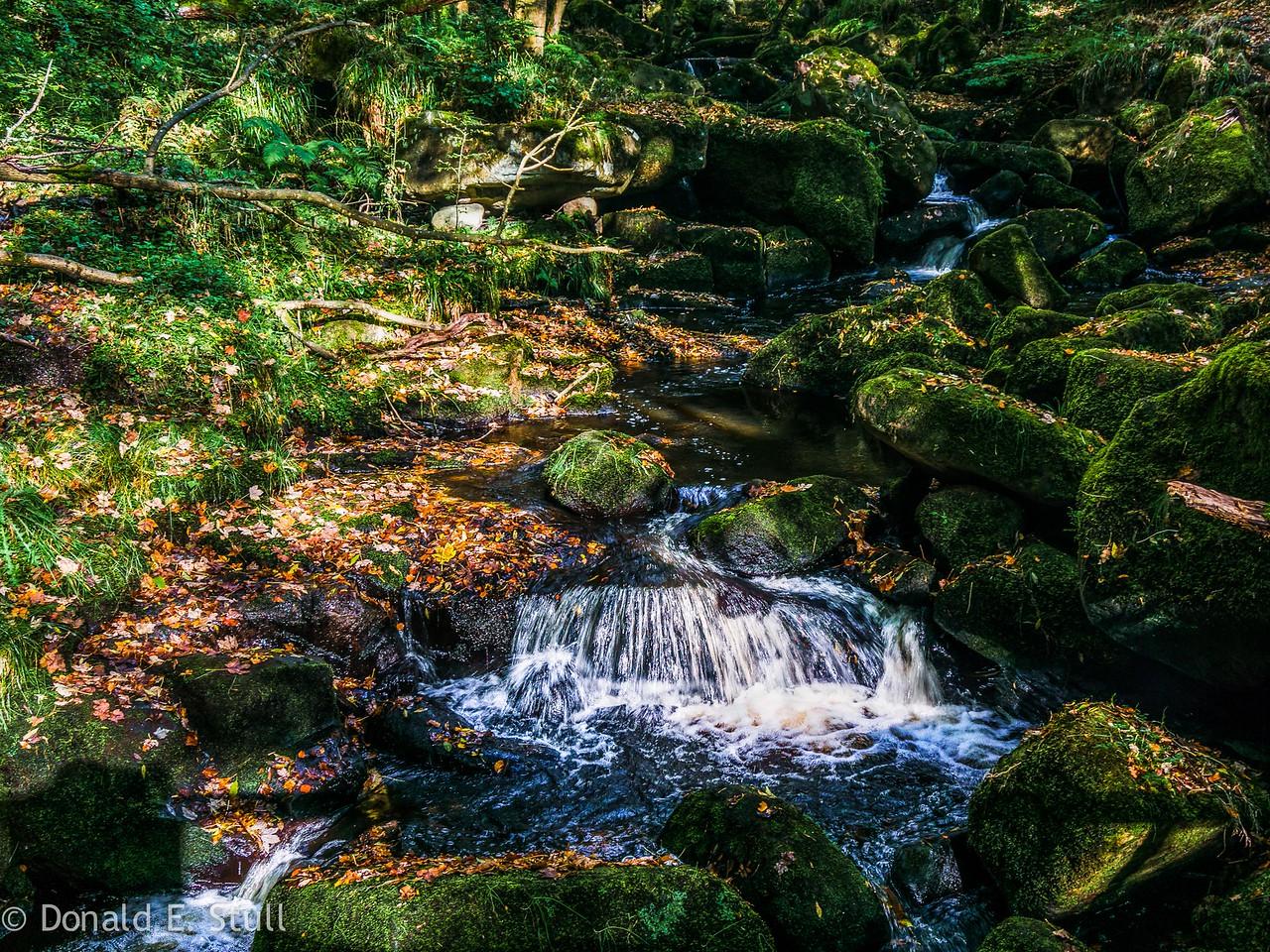 Burbage Brook, Grindleford, UK