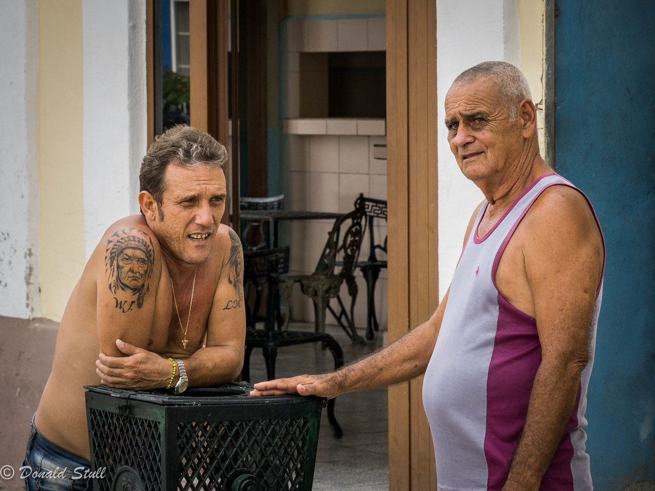 A pregnant pause.  Cienfuegos, Cuba