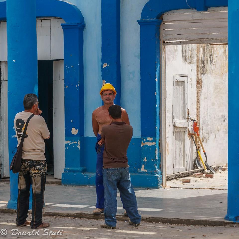 """""""None shall pass...NONE shall pass."""" Viñales, Cuba"""