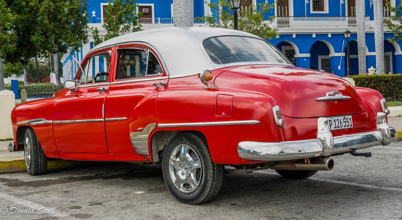1952 Chevrolet Bel Air.  Cienfuegos, Cuba