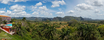 View of the Viñales Valley, Cuba