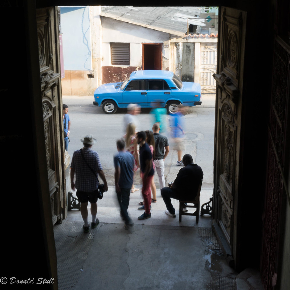 Still life and motion, 1.  La Guarida, Havana, Cuba