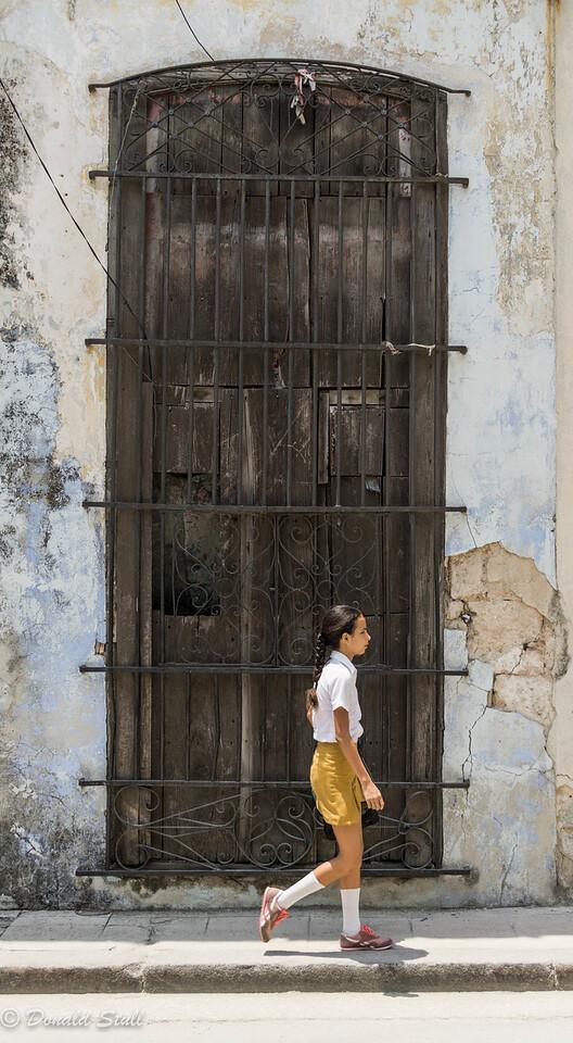 Old door.  Havana, Cuba
