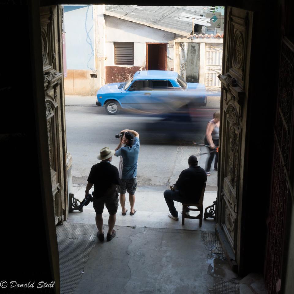 Still life and motion, 4.  La Guarida, Havana, Cuba