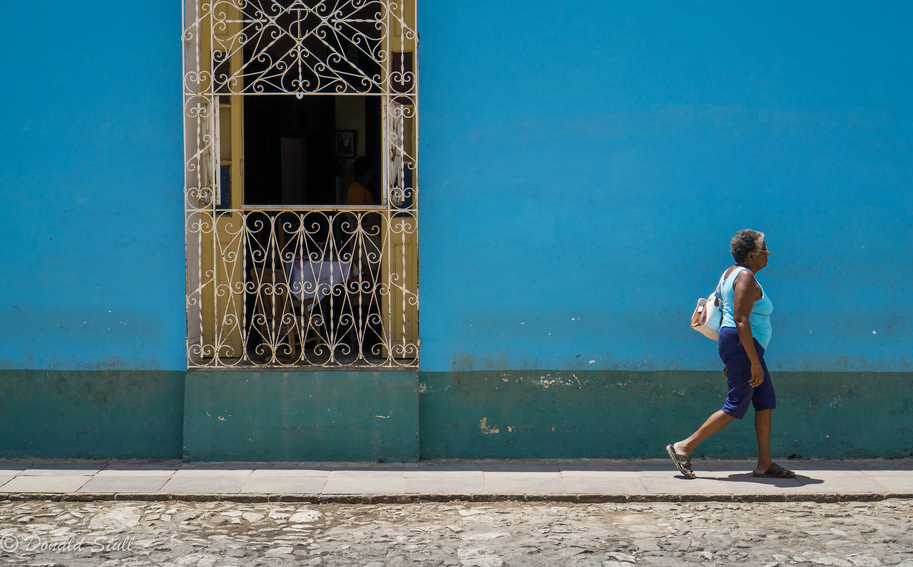 """I'm late, I'm late, for a very important date.""  Trinidad, Cuba"