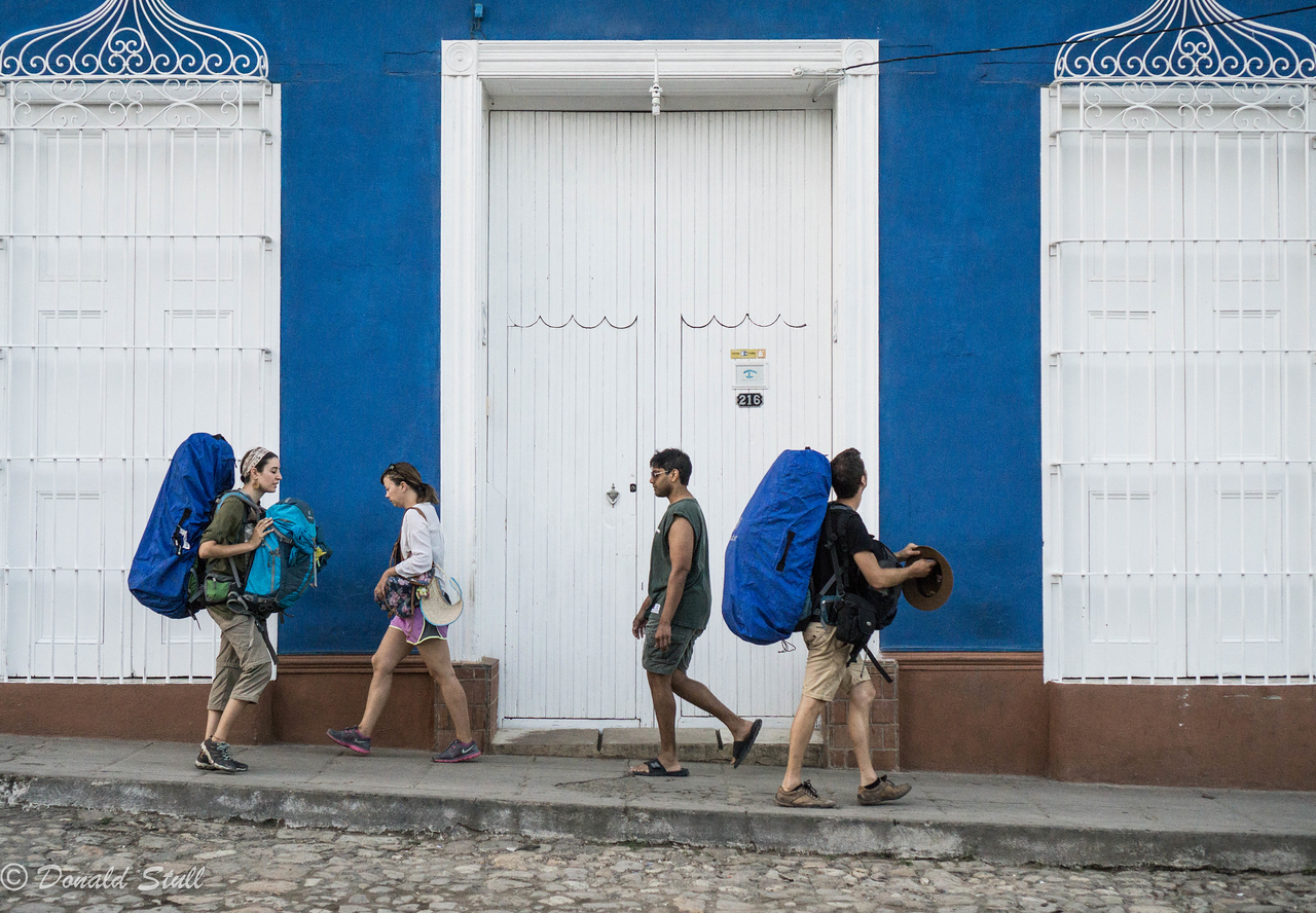 Coming and going.  Trinidad, Cuba