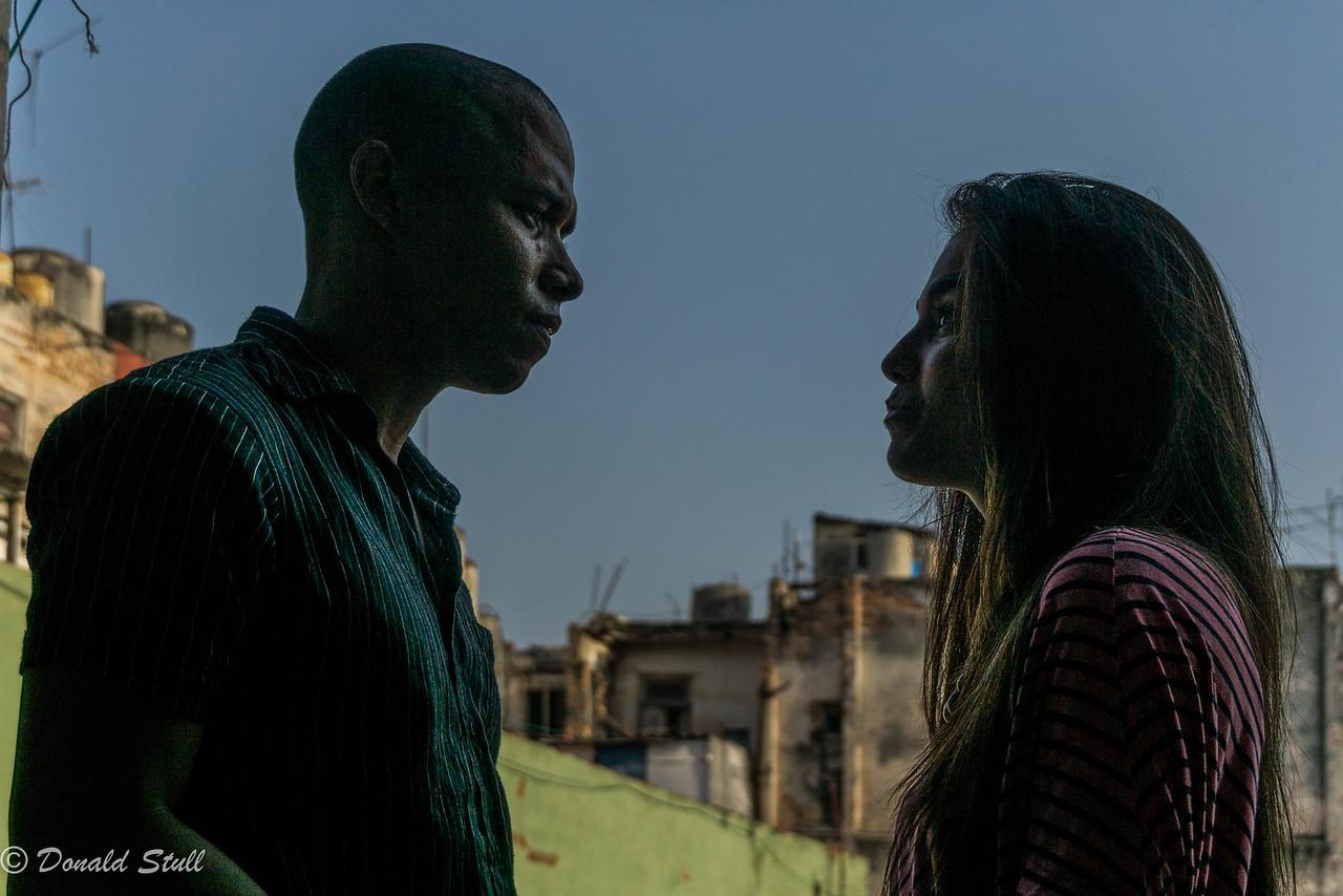 """""""Street photography, 2nd floor.""""  La Guarida, Havana, Cuba"""