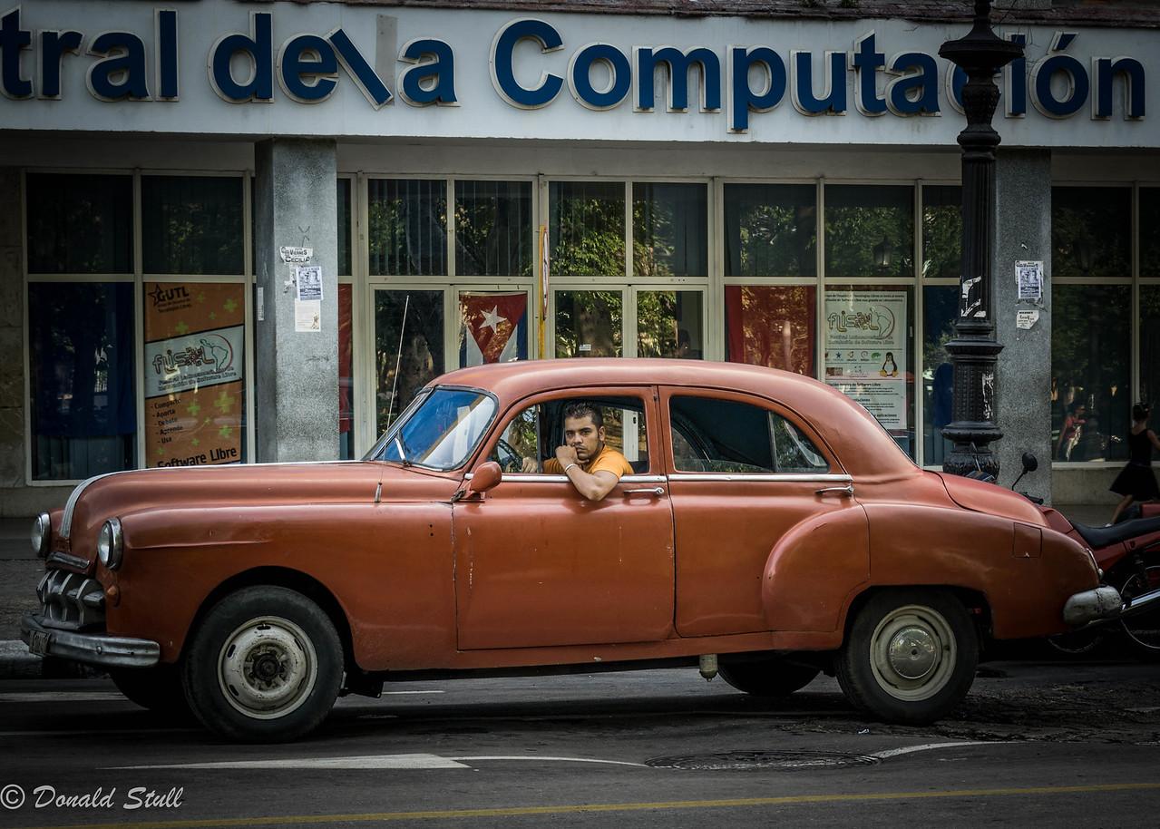 Waiting while cruising.  Havana, Cuba