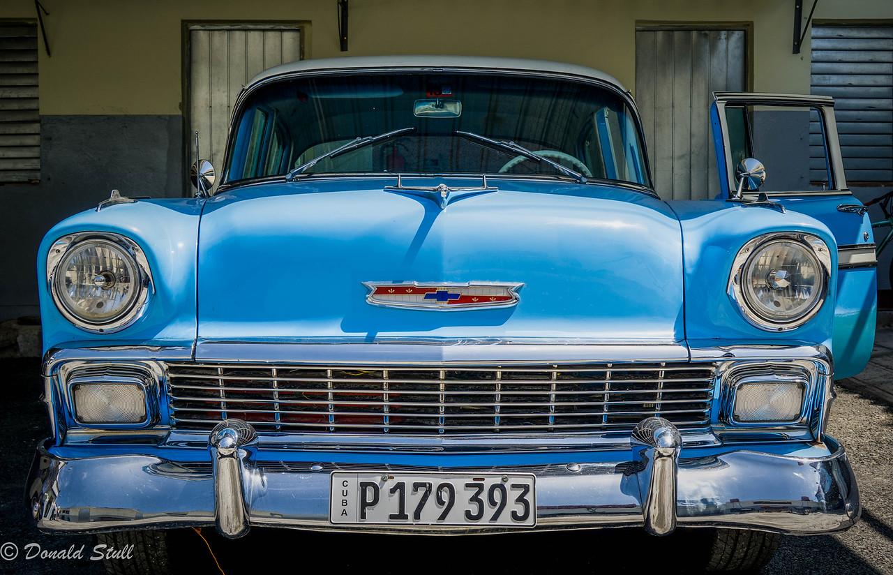 1956 Chevrolet Bel Air.  Havana, Cuba