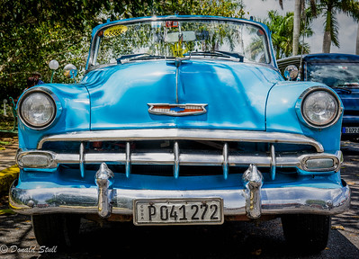 1954 Chevrolet Bel Air, Viñales Valley, Cuba