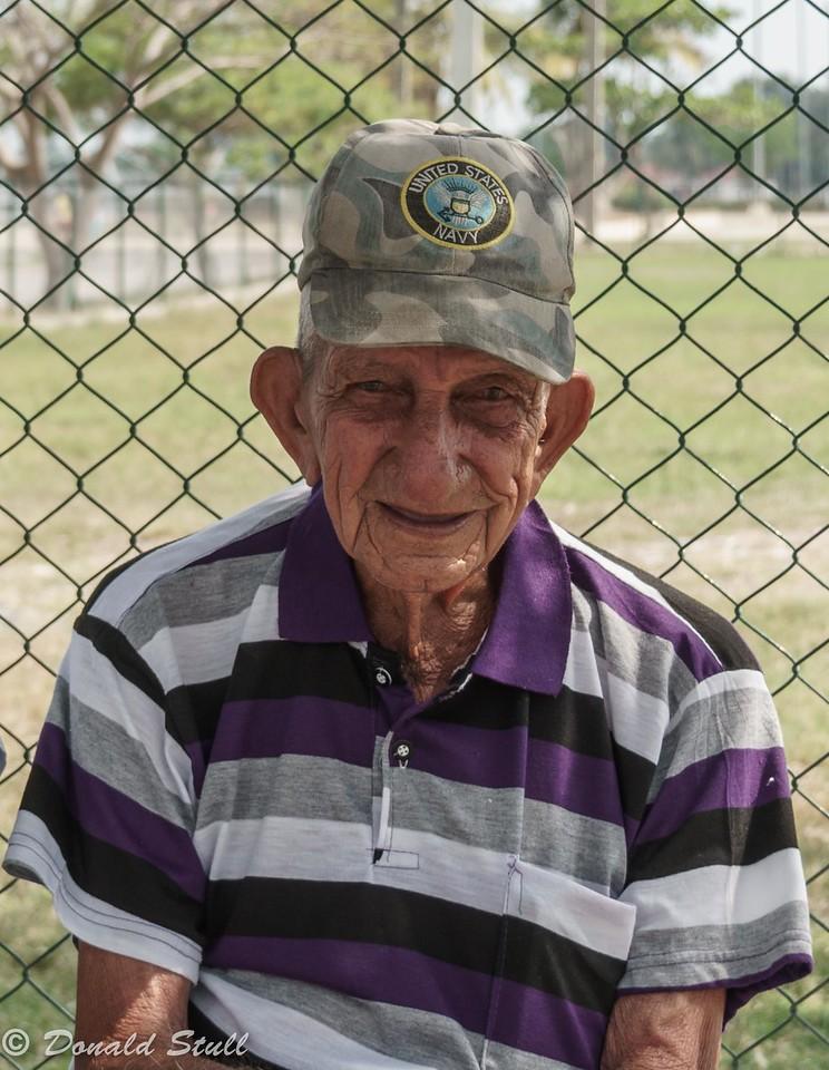 """""""US Navy Veteran."""" Cienfuegos, Cuba"""