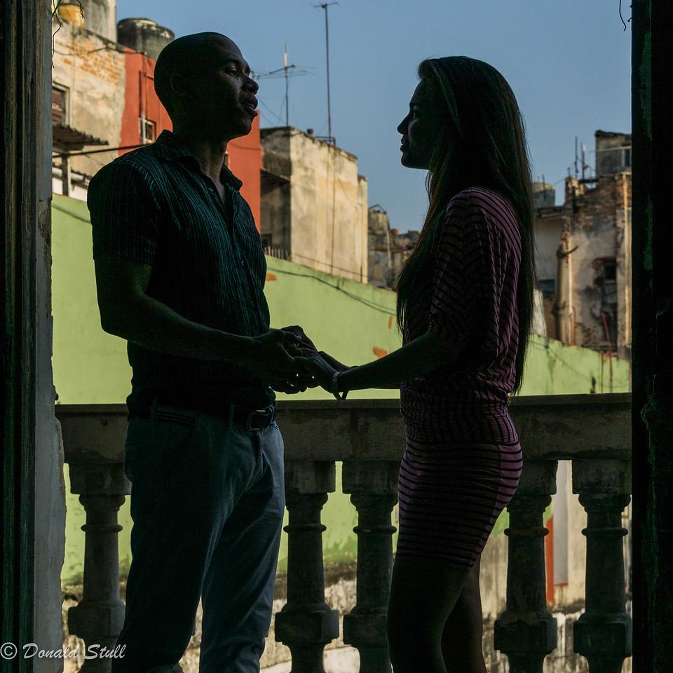 Encuentro en la Habana.  La Guarida, Havana, Cuba