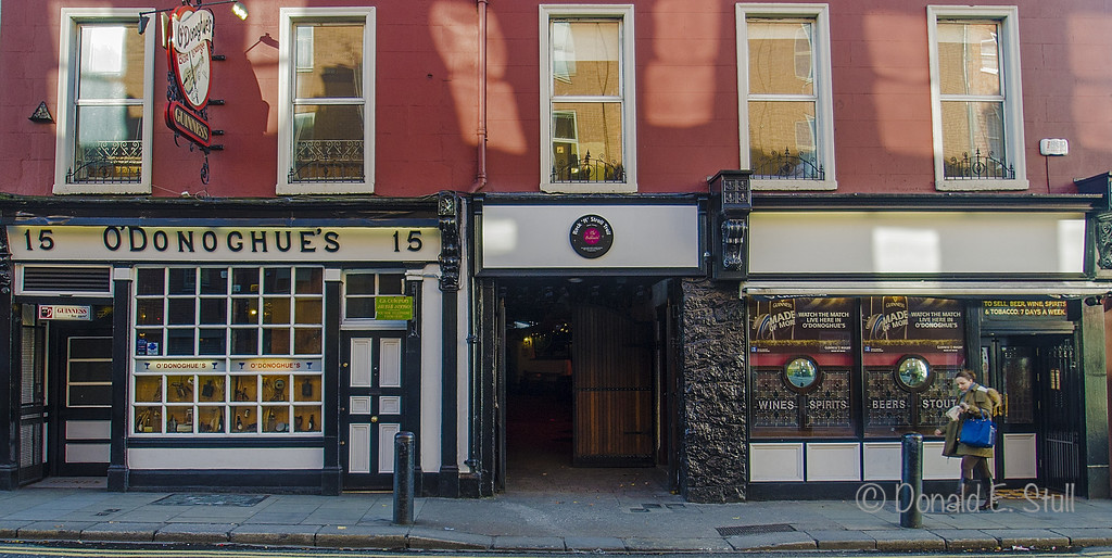 O'Donoghue's Pub, Home of The Dubliners, Dublin
