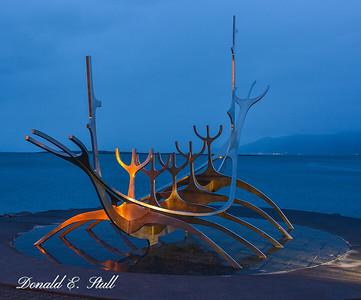 Sun Voyager (Sólfar): a sculpture by Jón Gunnar Árnason