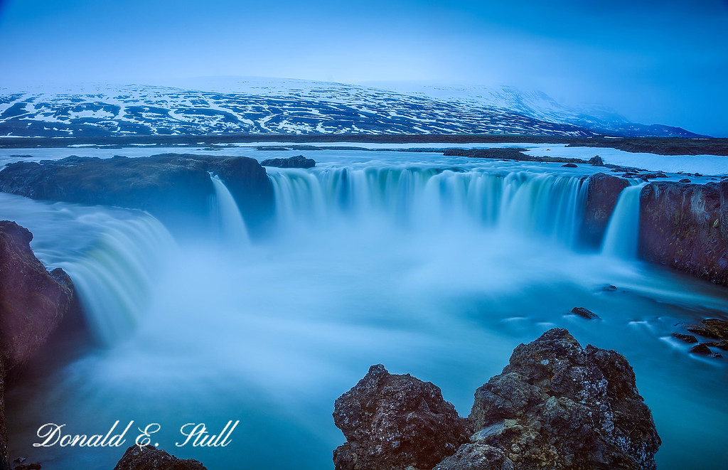 Goðafoss -- Waterfall of the Gods