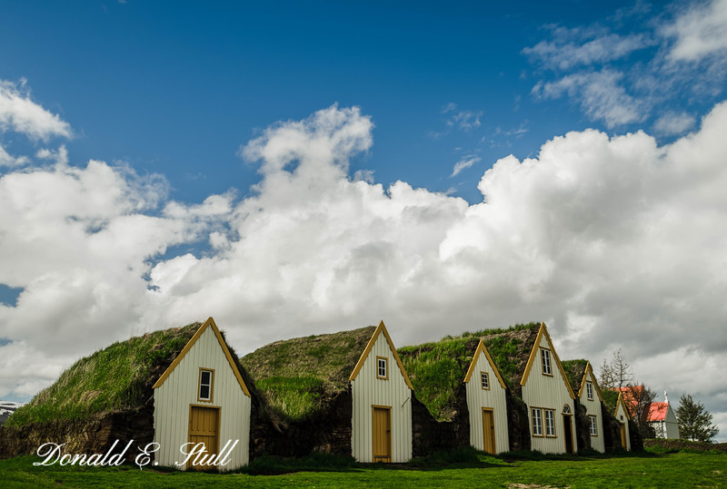 Glaumbær -- turf farm