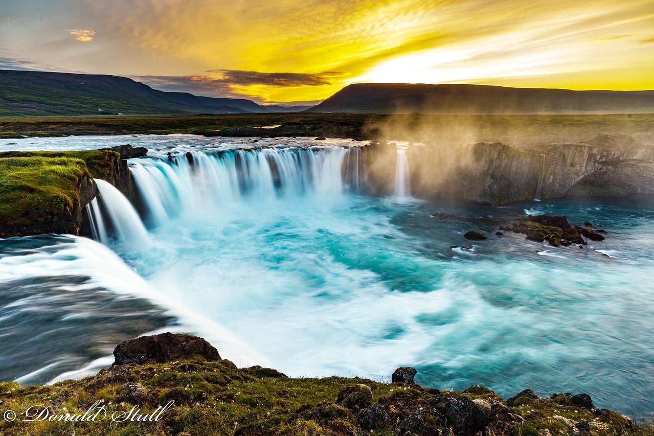 Goðafoss...Waterfall of the Gods.