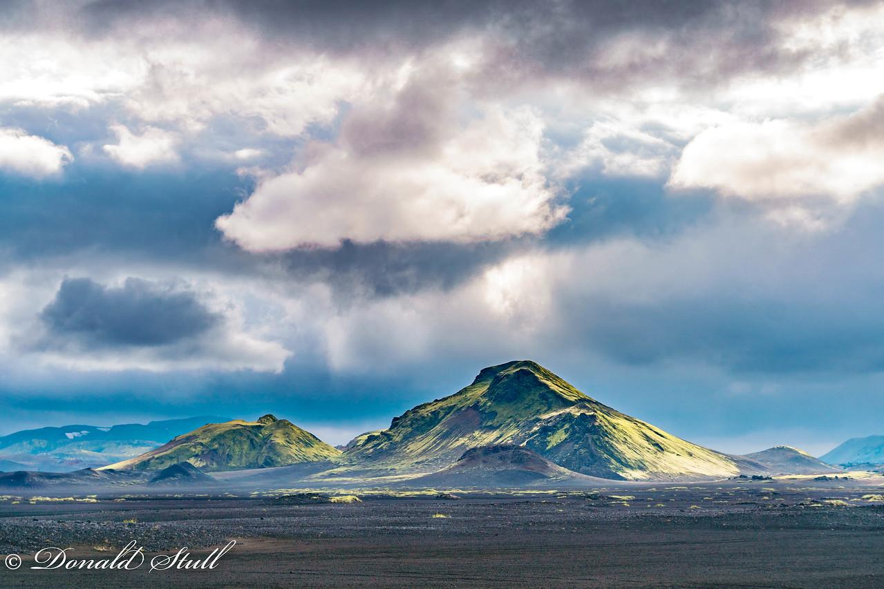 Somehwere near Mordor.  Landmannalaugar.