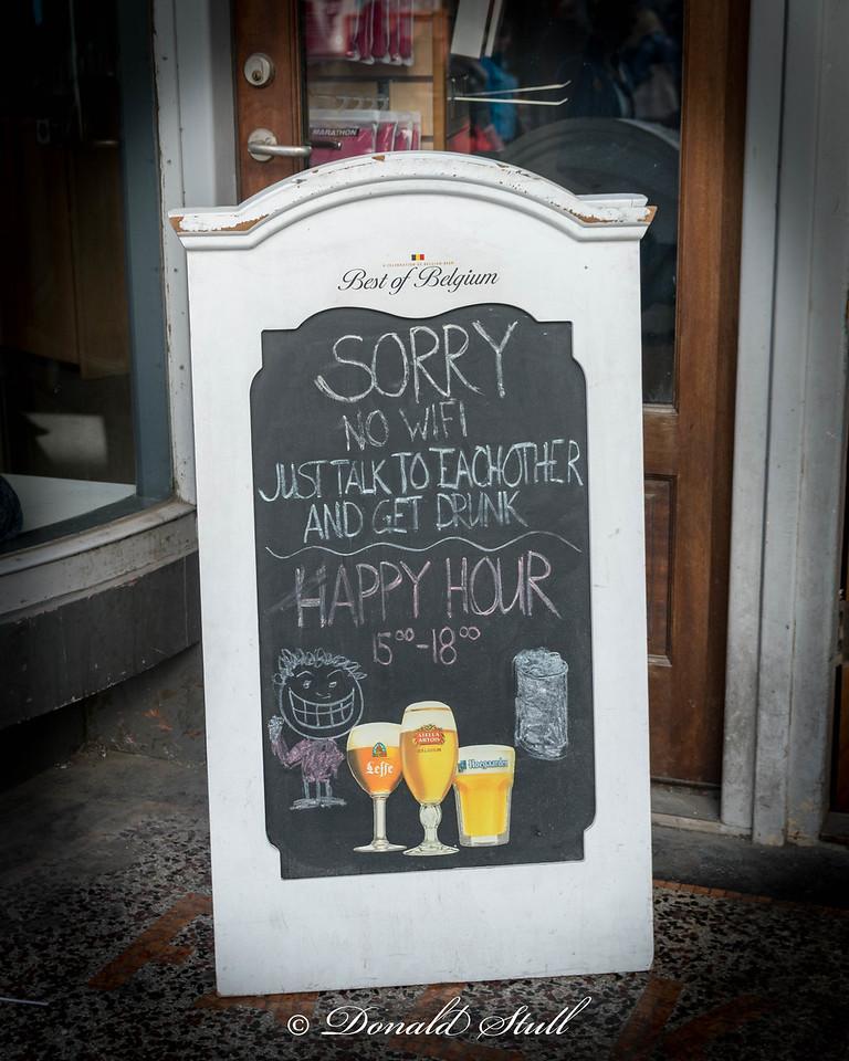 Icelandic humor.  Reykjavik.
