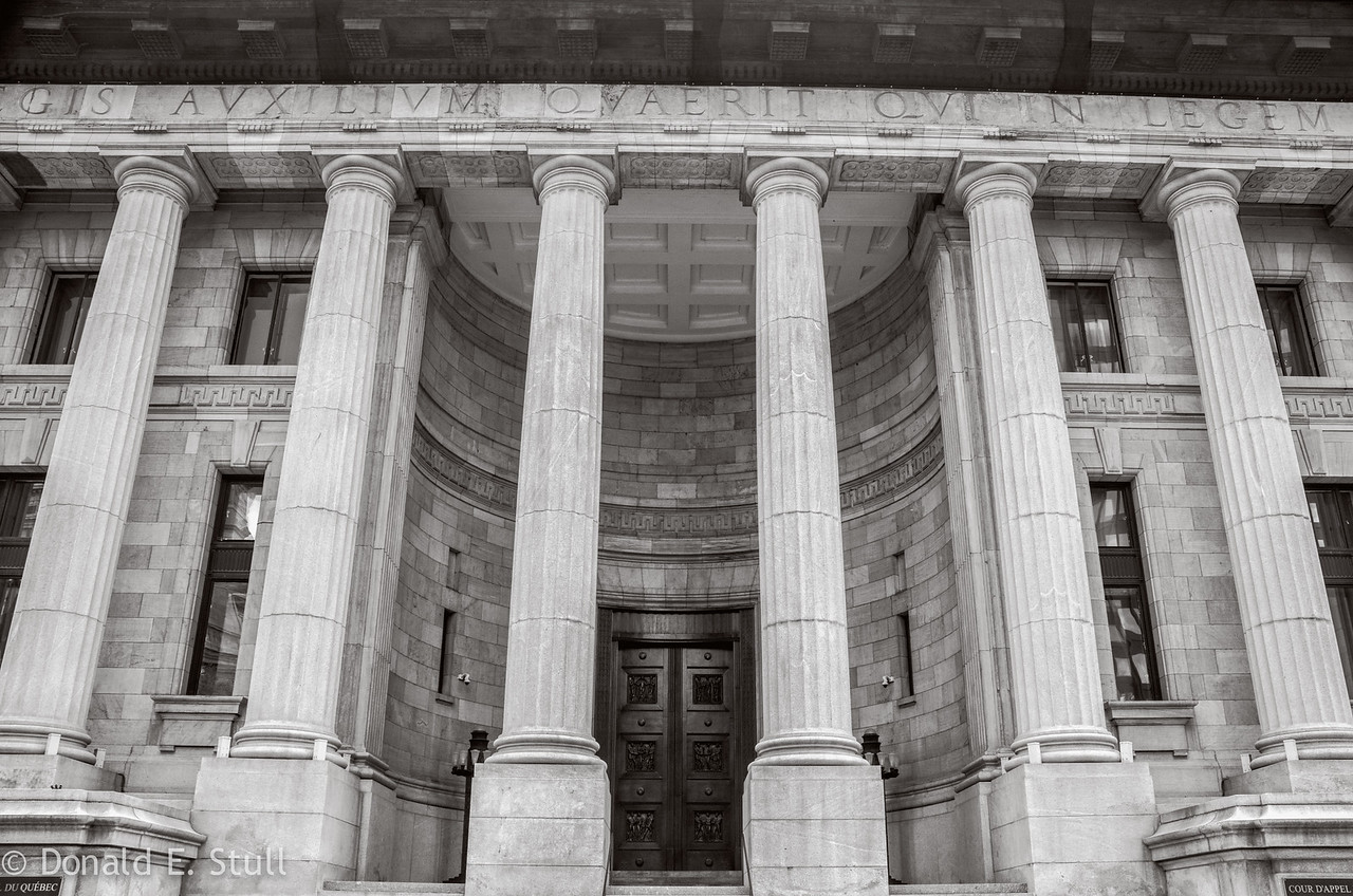 Ernest Cormier Building houses the Quebec Court of Appeal in Montreal