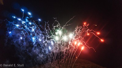 Bastille Day celebrations, Lodeve, Languedoc-Rousillon, South of France