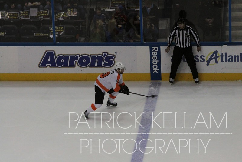 Philadelphia Flyers vs. Atlanta Thrashers Hockey