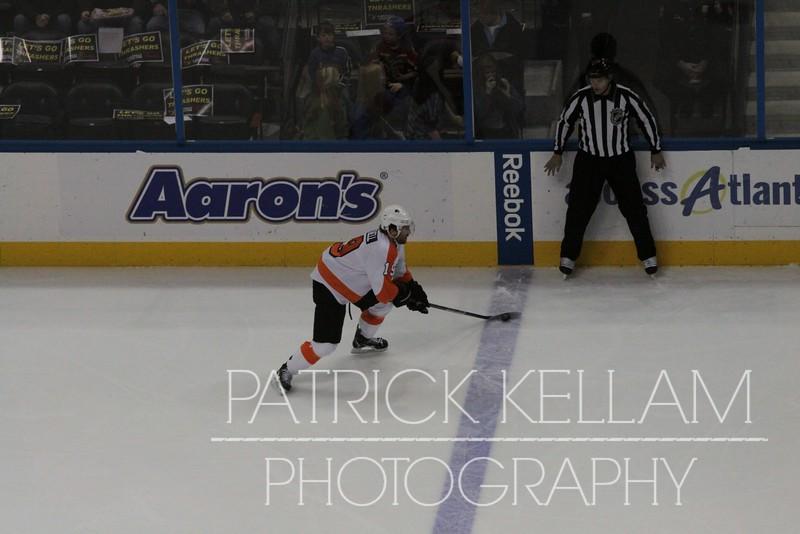 Philadelphia Flyers vs. Atlanta Thrashers Hockey