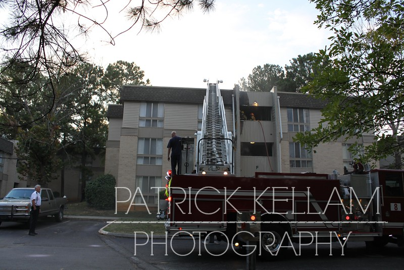 Hickory Valley Apartments Fire, Chattanooga, TN