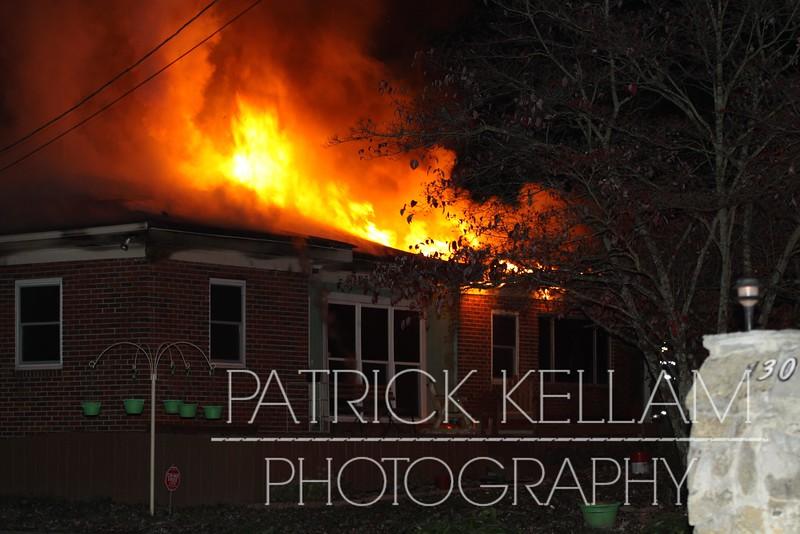 Jenkins Road House Fire, Walker County, GA