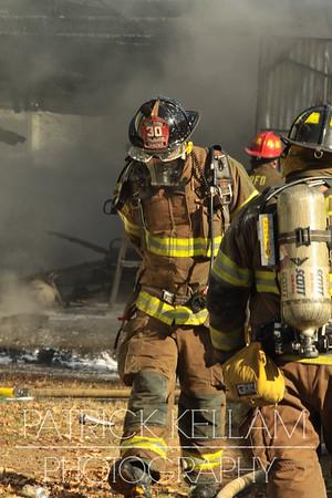Wentworth Avenue Garage Fire - East Ridge, TN