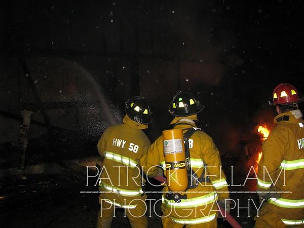 Bramlett Road House Fire - Harisson, TN