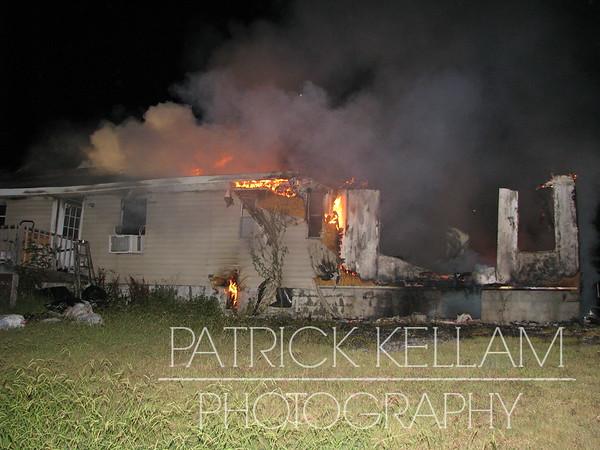 Cantrell Lane House Fire - Harrison, TN