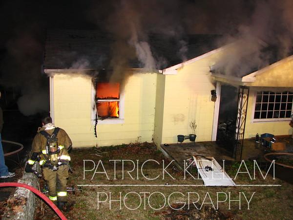 Hargraves Avenue House Fire - Fort Oglethorpe, GA