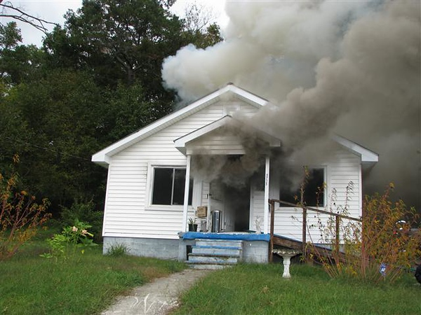 Highway 41 House Fire - Catoosa County, GA