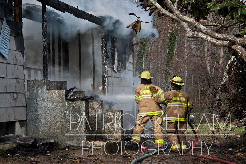 Howardsville Road House Fire - Apison, TN