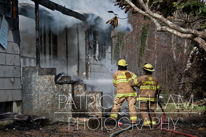 Howardsville Road House Fire - Apison, TN