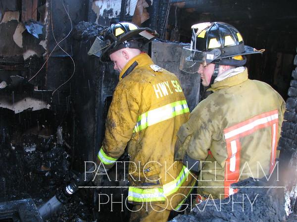 Johnson Road House Fire - Birchwood, TN