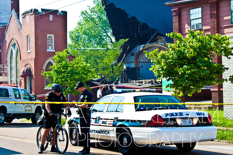 McCallie Avenue Church Collapse - Chattanooga, TN