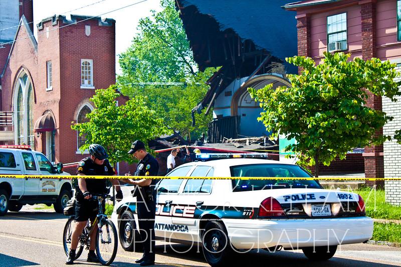 McCallie Avenue Church Collapse - Chattanooga, TN