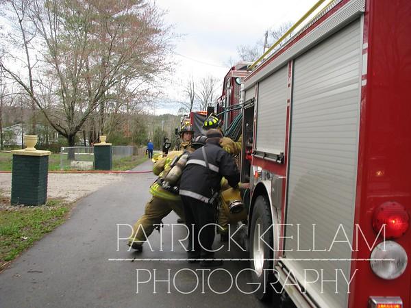 Oak Circle Drive House Fire - Fort Oglethorpe, GA