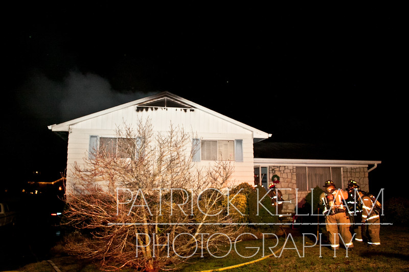 Patton Drive House Fire - East Ridge, TN