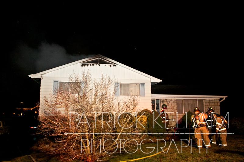 Patton Drive House Fire - East Ridge, TN